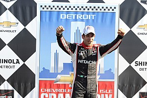 IndyCar Race report Team Penske Belle Isle Race Two report