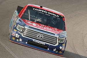NASCAR Truck Race report Just after high school graduation, Jones takes 11th in NASCAR race