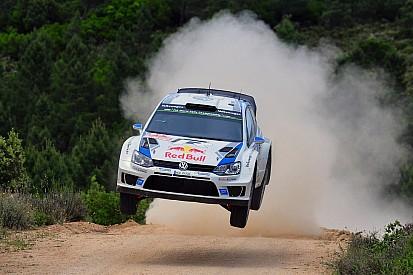 Ogier powers into Rally Italia lead