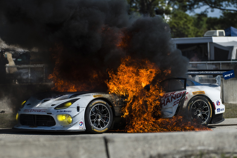 In endurance racing, insurance is a hard pill to swallow