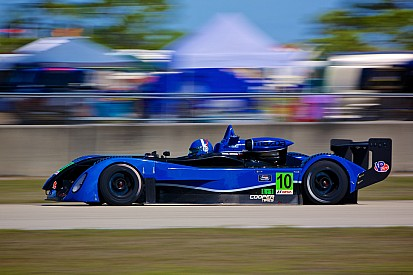 Mikhail Goikhberg takes IMSA Lites race at Kansas Speedway