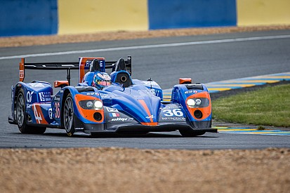 Le Mans driver Nelson Panciatici is prepared for the 24