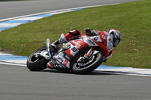 World Superbike Race report Team Bimota Alstare upbeat after difficult day
