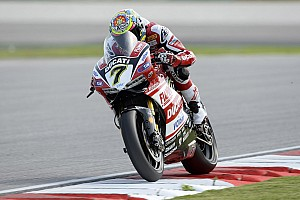 World Superbike Race report A solid fourth place finish for Davies and the Ducati Superbike Team today at Sepang