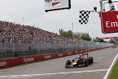 An amazing podium for both Red Bull drivers in Canada