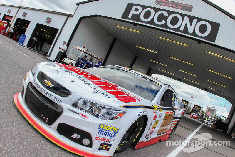 In his own words: Dale Jr.'s post-win press conference at Pocono