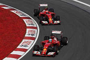 Formula 1 Race report Ferrari on Canadian GP: Some lucky points