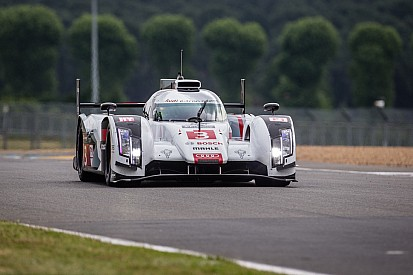 Night shift for Audi at Le Mans
