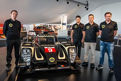 Lotus LMP unveiled at Le Mans