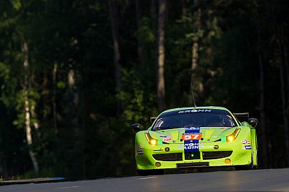 Krohn Racing Ferrari team ready for the green flag