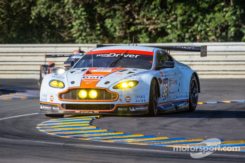Young Driver AMR qualifies third at Le Mans