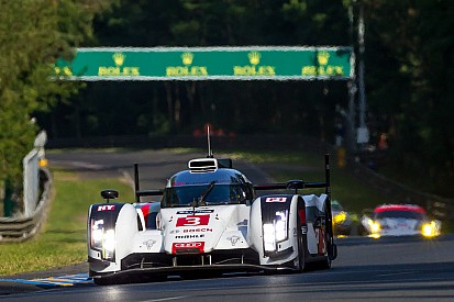 No. 3 Audi and No. 8 Toyota involved in major crash - video