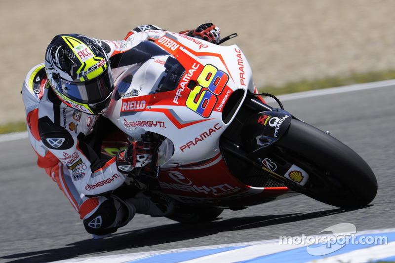 Excellent third row for Yonny Hernandez, eleventh time for Andrea Iannone