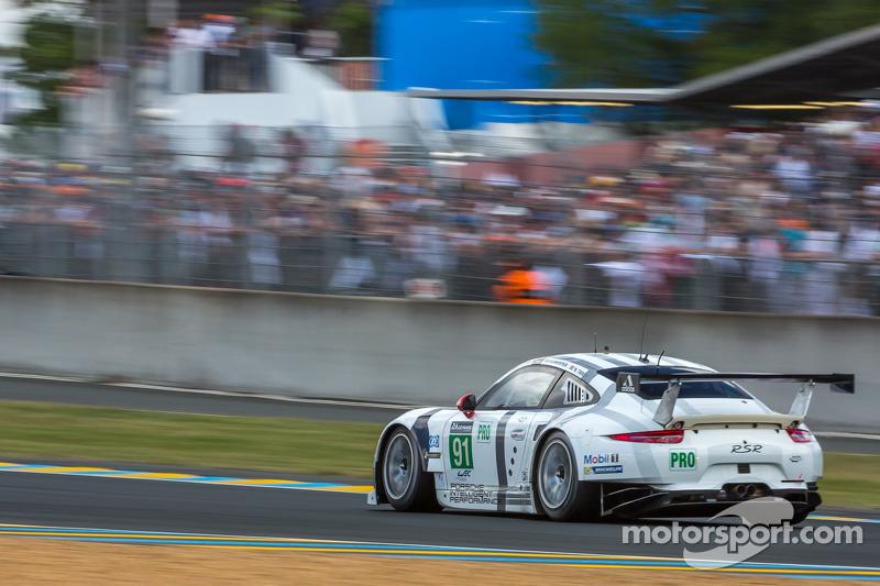 Porsche 911 RSR still in the top group