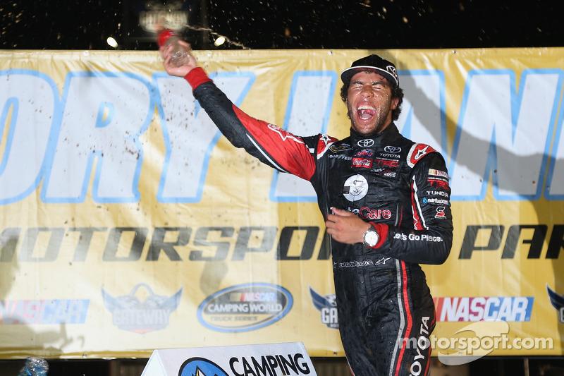 Darrell Wallace Jr. takes NASCAR Camping World truck win at Gateway
