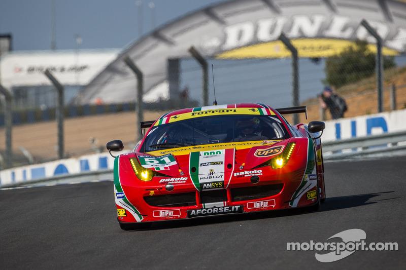Fisichella wins 24 Hours of Le Mans, Corvette Racing Second