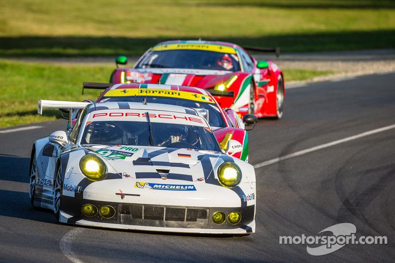Porsche 911 RSR finishes 24-hour marathon at Le Mans in third