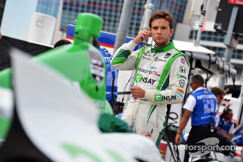 IndyCar: Four quick questions for Carlos Munoz