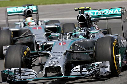 Mercedes driver tension still simmering
