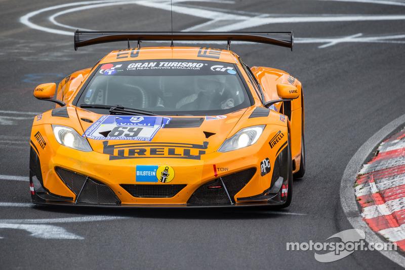 No. 69 Dorr Motorsport McLaren holds Nürburgring 24 pole ahead of Top-30 Shootout