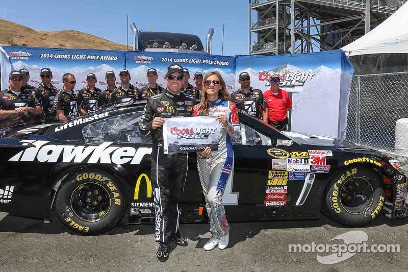 Jamie McMurray snags Sonoma pole for Chip Ganassi