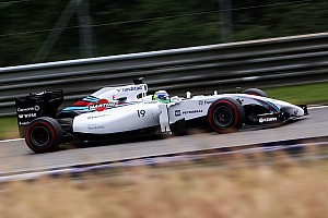 Formula 1 Qualifying report All Williams front row for the first time since 2003, using Pirelli P Zero Red supersoft