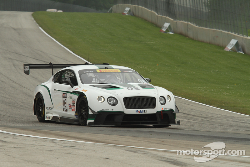 Dyson Racing Team Bentley: Moving on up
