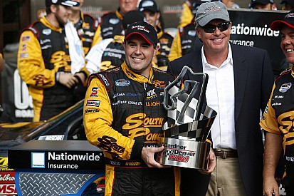 Brendan Gaughan wins first Nationwide race in Road America thriller