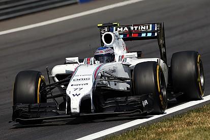 Williams' Bottas achieved his first ever Formula One podium in Austria