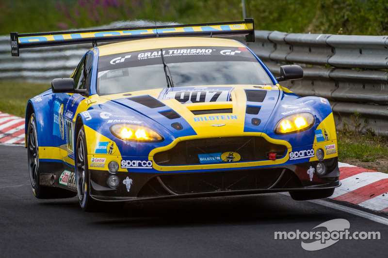 Top five finish for Aston Martin in Nürburgring 24 Hours