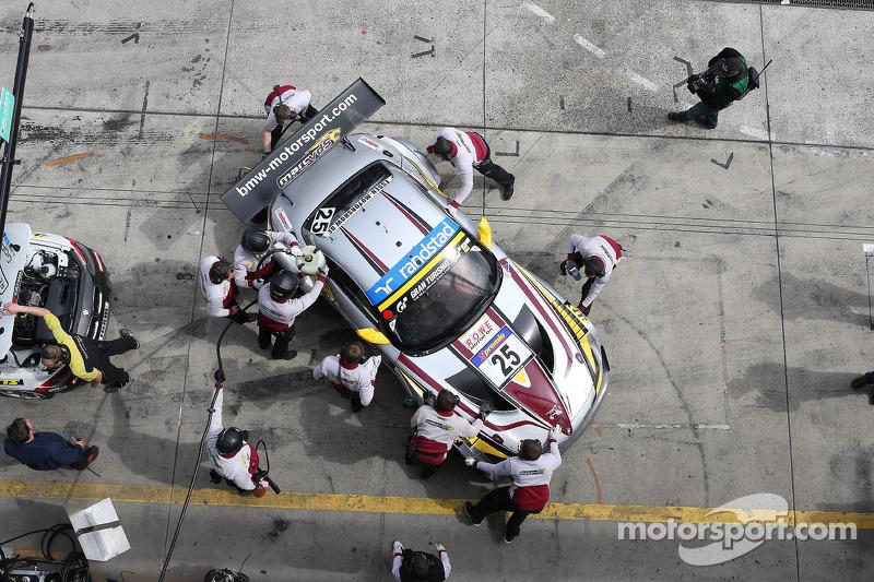 Cruel luck bites Marc VDS at 24 Hours of Nürburgring