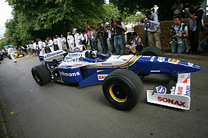 Formula 1 Breaking news Williams showcases its Heritage at the Goodwood Festival of Speed