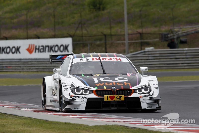 On the streets of Nürnberg: The BMW M4 DTM makes its street circuit