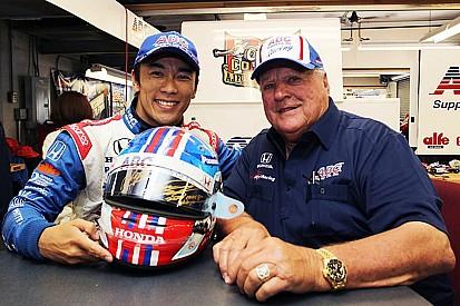 Sato helmet raises more than $30,000