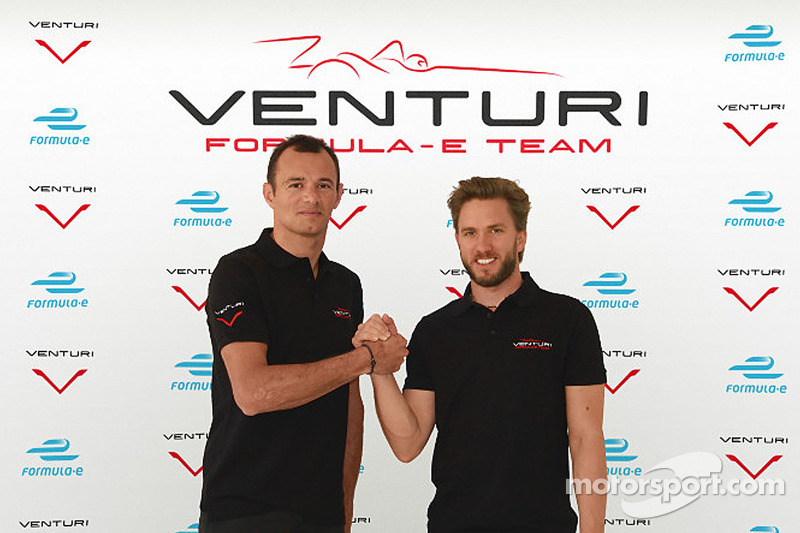Nick Heidfeld and Stéphane Sarrazin to drive for Venturi in Formula E
