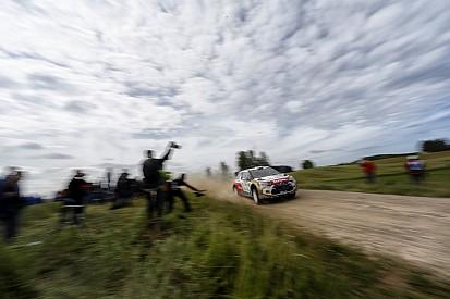 Kris Meeke and Mads Østberg in the top 5