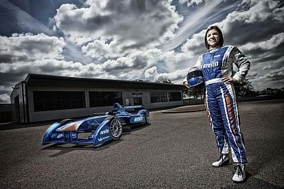 Amlin Aguri signs Katherine Legge to race in Formula E