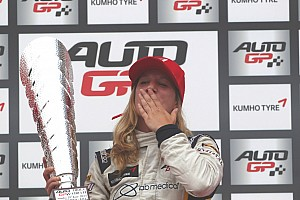 Michela Cerruti scores historic win at Imola