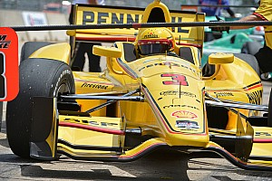 IndyCar Race report Mistake proves costly for Castroneves