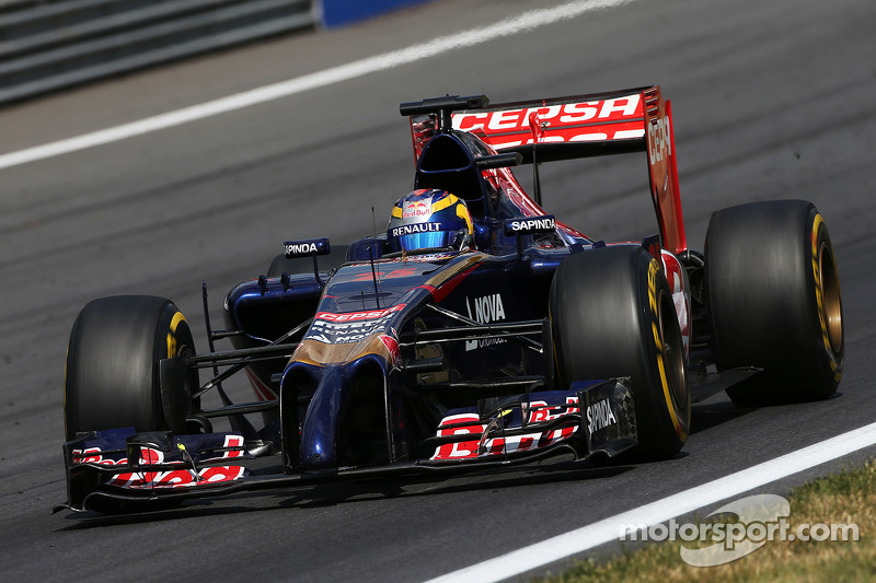 Silverstone's high speed corners are waiting for Toro Rosso
