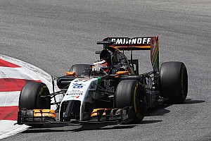 Formula 1 Breaking news Mallya happy with Force India drivers