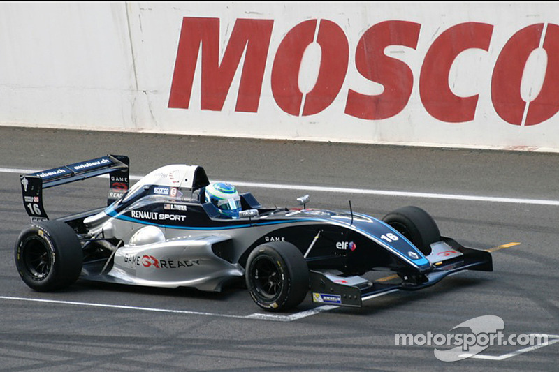 New York's Ryan Tveter earns first Eurocup points finish at Moscow