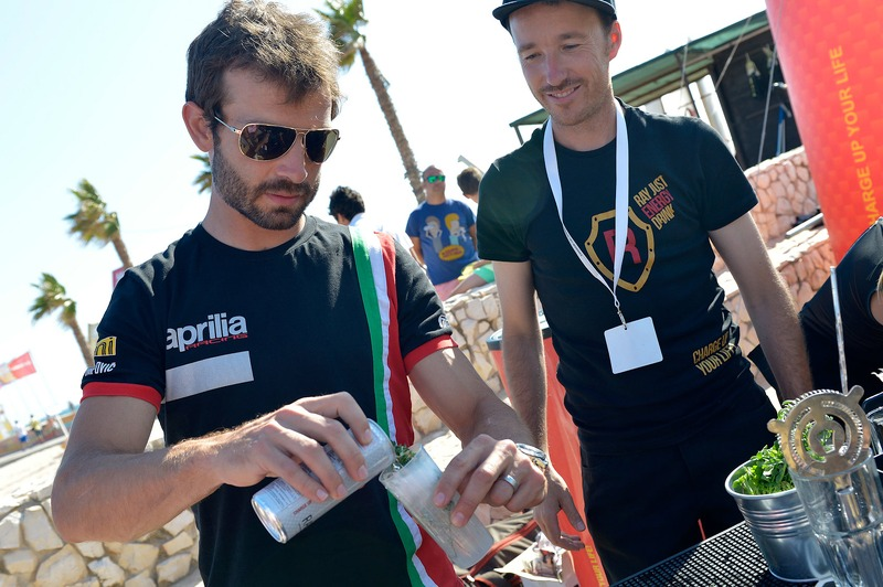 WSBK riders mix it up at the Portimão beach