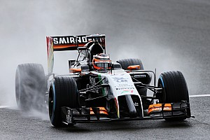 Formula 1 Qualifying report Hulkenberg will line up on the second row of the grid on tomorrow's British GP