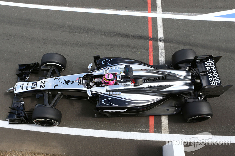 McLaren is top ten on British GP