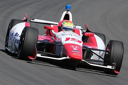 Flat out day at Pocono nets 14th for Justin Wilson