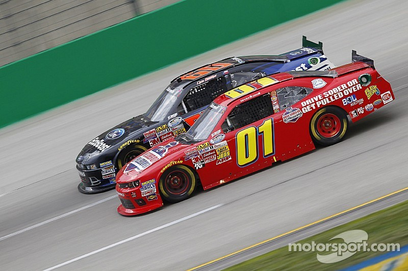 Landon Cassill back on track at Loudon