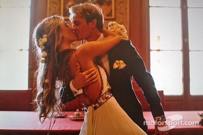 Nico Rosberg gets married