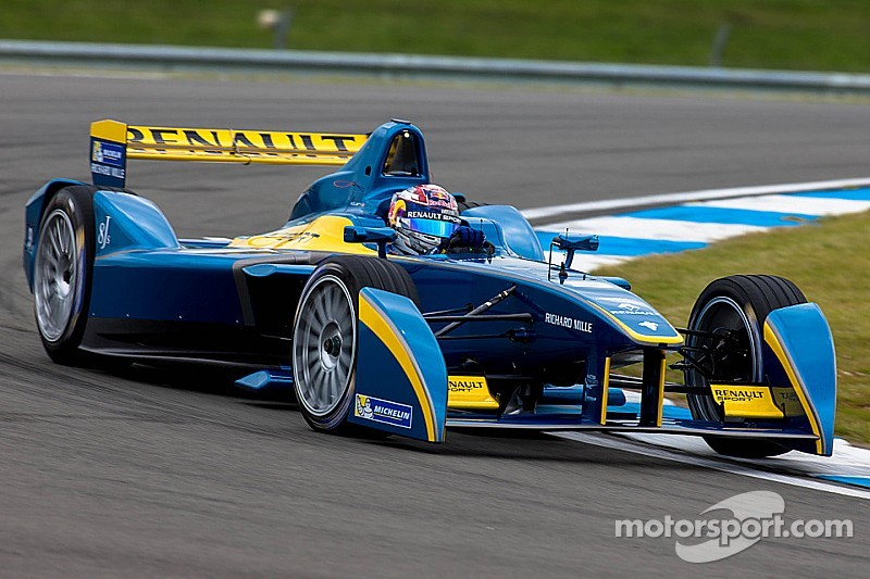 e-dams-Renault tops the time sheets