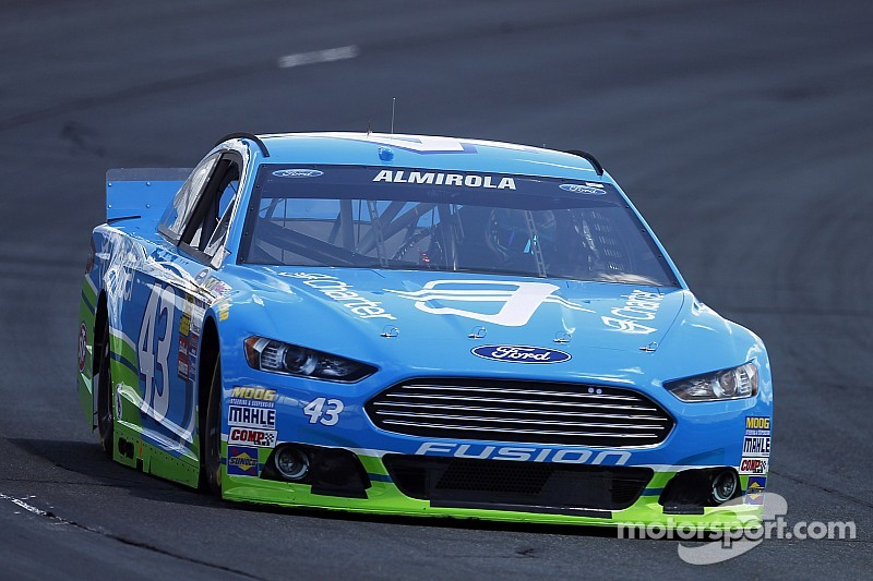 """Almirola """"along for the ride"""" at New Hampshire"""